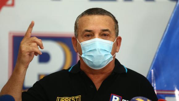 Daniel Urresti había sido excluido por una tacha en primera instancia. (Foto: Archivo de GEC)