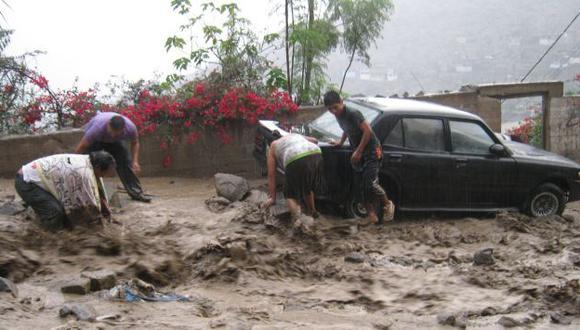 INUNDACIÓN. El asentamiento humano Nicolás de Piérola fue uno de los más afectados. (Alexander a. Gutiérrez)