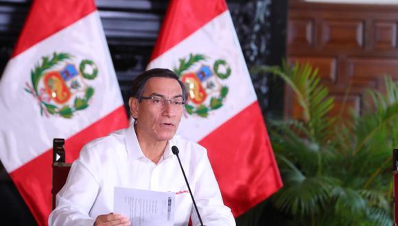 Presidente de la República, Martín Vizcarra. (Foto: PCM)