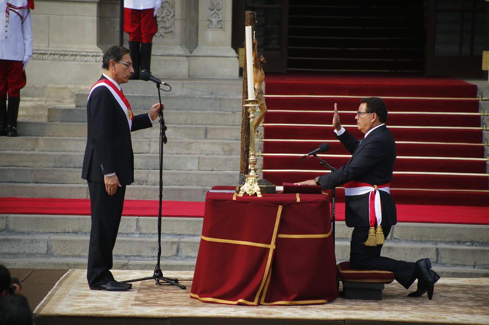 José Huerta es el flamante ministro de Defensa. (Luis Centurión/Perú21)