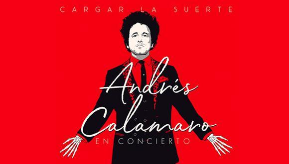 Se reprograma concierto de Andrés Calamaro en lima. (Foto: Difusión)