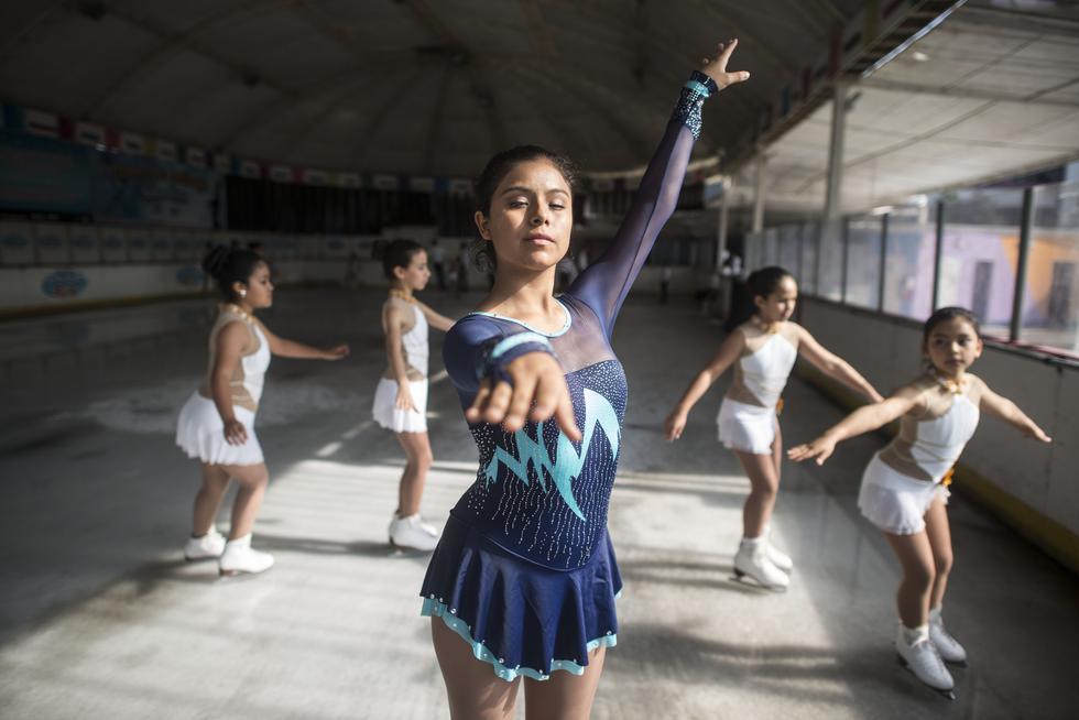El primero de junio será el primer campeonato nacional de patinaje sobre hielo en Perú.(ELIAS ALFAGEME/ GEC)
