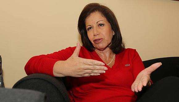 Lourdes Flores Nano considera que aumento de sueldos a ministros es impopular pero necesario. (USI)