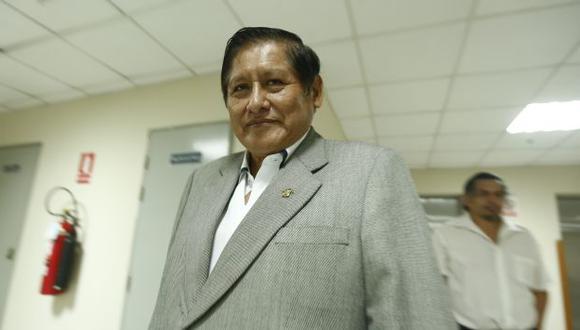 """""""Enrique Cornejo tiene allí una responsabilidad política"""", aseveró Juan Pari. (Piko Tamashiro/Perú21)"""