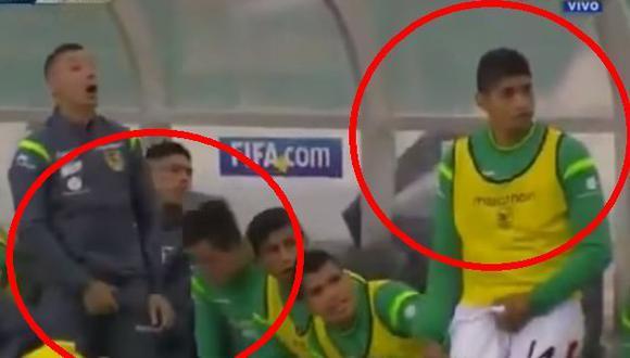 Bolivia vs. Chile: Pablo Escobar opaca la victoria de su selección con este obsceno gesto. (YouTube)