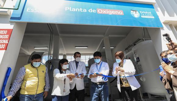 La infraestructura es dirigida a la conservación óptima de vacunas contra la COVID-19 (Foto: EsSalud Perú)