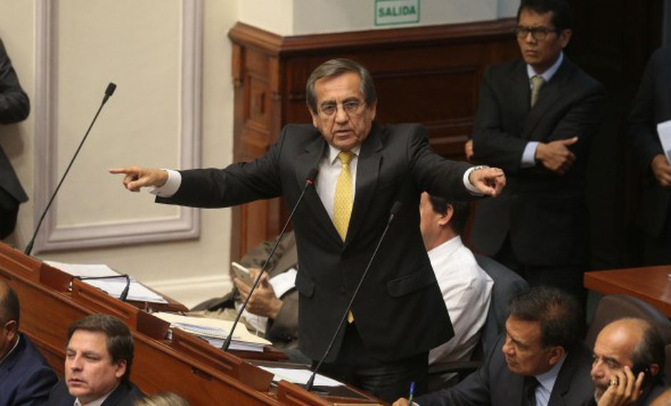 "Jorge del Castillo consideró que existe un ""doble discurso"" de parte del Ejecutivo. (Foto: GEC)"