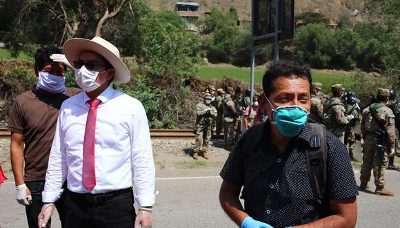 Imprudente. Chagua tuvo contacto con personas el 14 de abril. (GEC)
