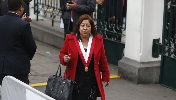 María Elena Foronda, congresista del Frente Amplio. (Perú21)