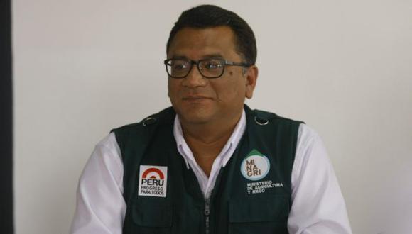 Juan Manuel Benites, ministro de Agricultura, contrajo el virus del dengue. (Perú21)