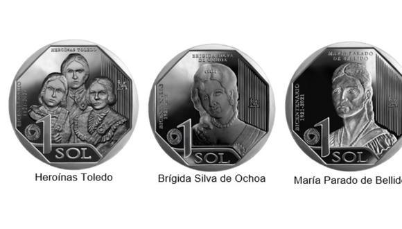 Las monedas son de curso legal, por lo que pueden ser usadas en cualquier transacción económica. (Foto: BCR)