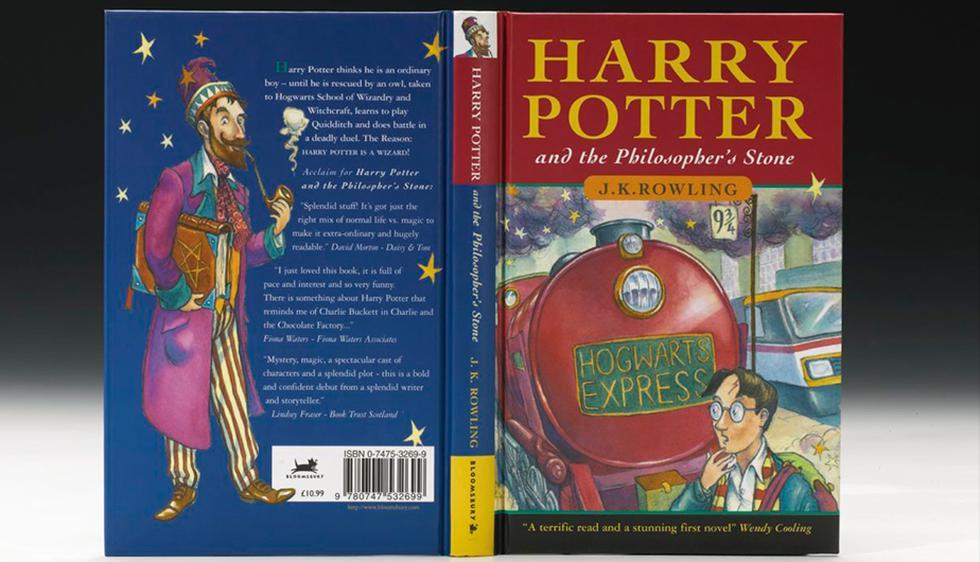 Inicialmente solo se imprimieron 500 ejemplares de 'Harry Potter y la Piedra Filosofal' en 1997 (Sotheby's)