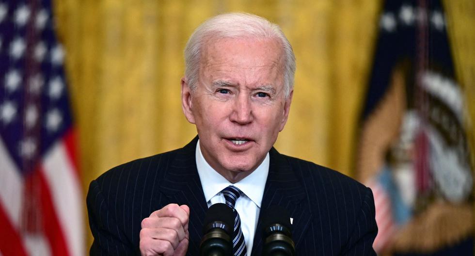 Imagen del presidente de Estados Unidos, Joe Biden. (JIM WATSON / AFP).