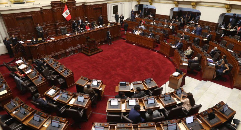 Este pleno será el primero en realizarse desde el mensaje a la Nación del presidente Vizcarra en el cual criticó que la demora del Parlamento en los proyectos de reforma del sistema de justicia. (Foto: GEC)