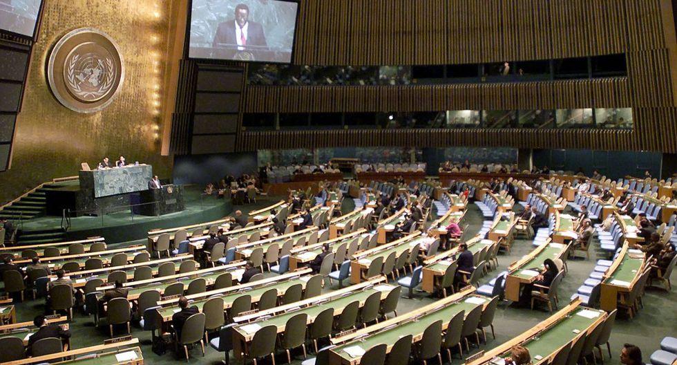 La decisión se basa en la rápida evolución de la situación planteada por el COVID-19 y en la necesidad de encontrar un equilibrio entre el trabajo de la ONU y las preocupaciones de salud. (AFP).
