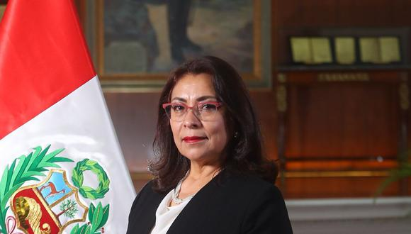 Violeta Bermúdez comenzará a reunirse con las bancadas días antes de que se vote la confianza a su gabinete. (Foto: Presidencia)