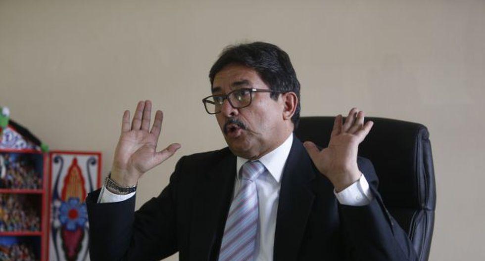 Cornejo había intentado inscribir su partido, pero el tiempo jugó en su contra (Mario Zapata)