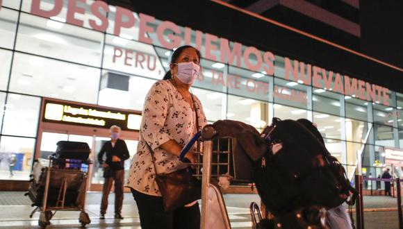 El MTC reanudará vuelos internacionales de más de 8 horas de duración.. (Foto: Renato Pajuelo/ Andina)