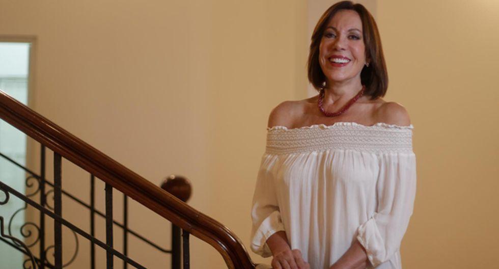 Actriz Yvonne Frayssinet será la Shushupe en 'Pantaleón y las Visitadoras - El Musical'. (Fotos: Renzo Salazar).
