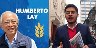 Humberto Lay, candidato a la Alcaldía de Lima de Restauración Nacional