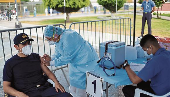 La universidad aseguró que las dosis adicionales no forman parte del ensayo clínico. (Foto: GEC)