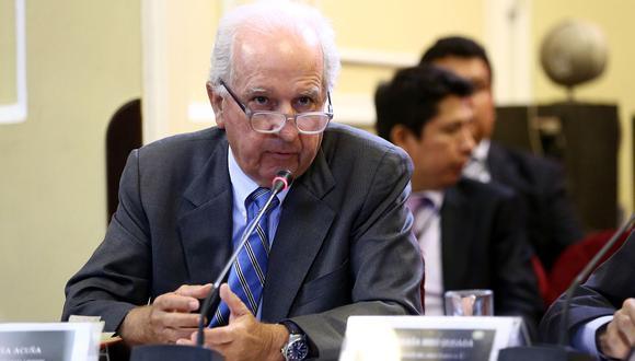 Hernando Graña es investigado en el caso Odebrecht pero se acogió a la colaboración eficaz. (Congreso)