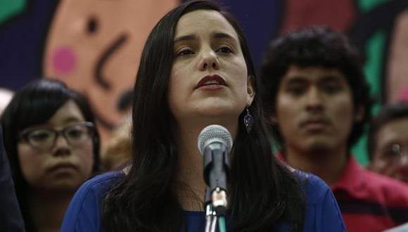 Verónika Mendoza envió contundente mensaje en contra de PPK. (Perú 21)
