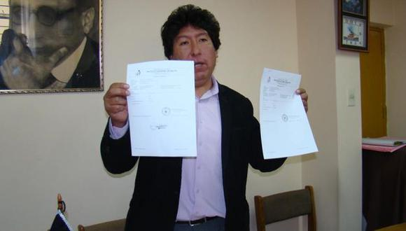 Director de la Red de Salud San Román, Enrique Sotomayor Perales. (Jimmy Valencia)