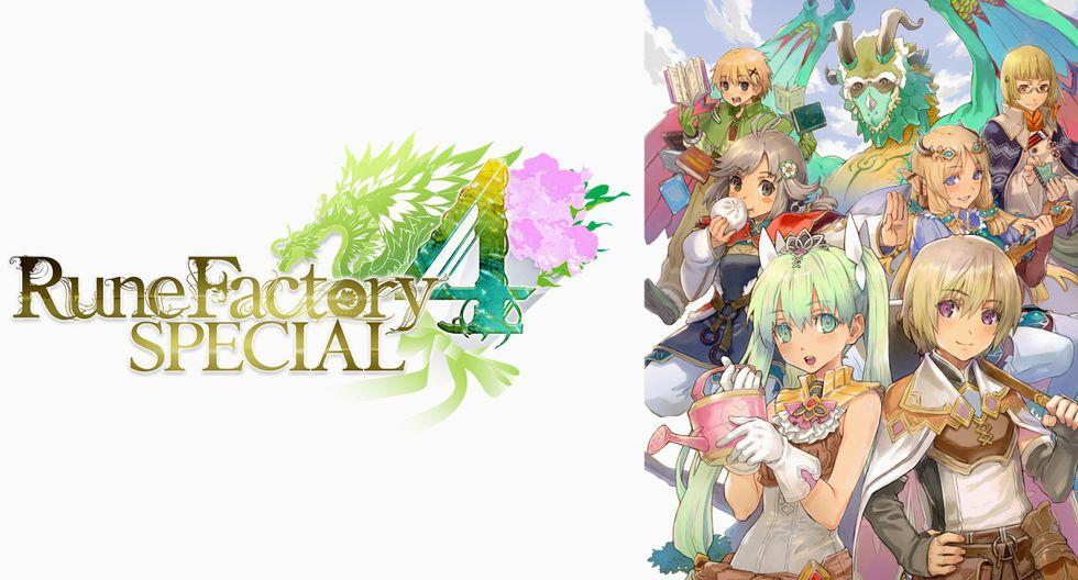 'Rune Factory 4 Special' es la revisión para la Nintendo Switch del título que salió para la Nintendo 3DS en el año 2014.