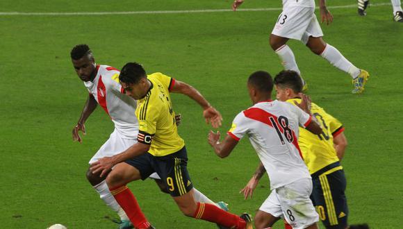 Perú vs. Colombia con gran acogida en sintonía. (USI)