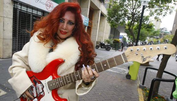 Monique Pardo sueña con volver a encontrarse con Mick Jagger. (USI)