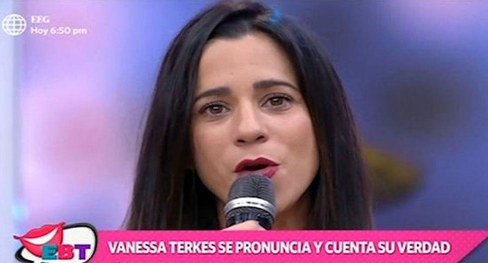 """Así fue el regreso de Vanessa Terkes a """"En boca de todos"""" tras su denuncia a George Forsyth. (Foto: Captura de video)"""