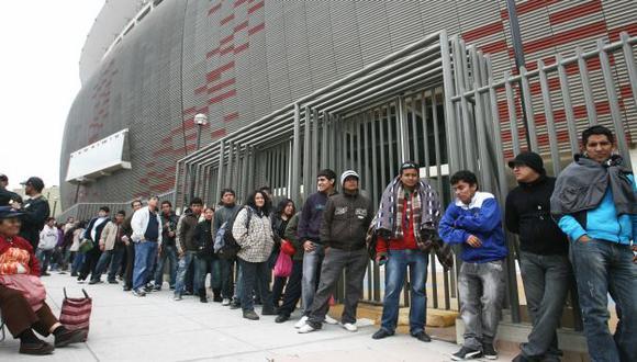 CALOR POPULAR. Pese a lo cara de las entradas, se espera un lleno total en el Nacional el 3 de junio. (David Vexelman)