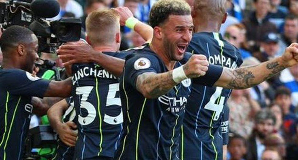 Manchester City ganó 4-1 a Brighton y se coronó campeón de la Premier League. (Foto: Manchester City)