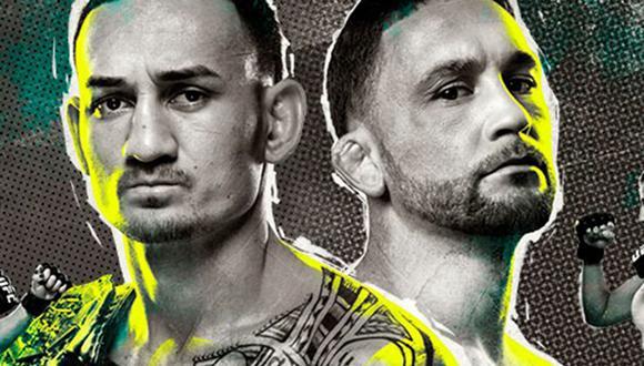UFC 240 tendrá como pelea estelar a Max Holloway vs Frankie Edgar desde Canadá. (Foto. UFC)