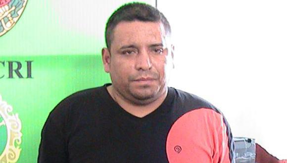 Carlos Arturo Zavala Barillas, alias 'Chupo', fue detenido el 10 de mayo pasado. (USI)