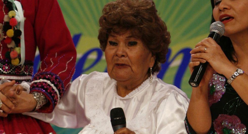 Carmencita Lara superó neumonía y recibió el alta médica. (USI)