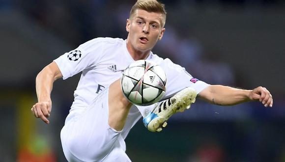 Toni Kroos sufre una lesión muscular en el glúteo medio izquierdo. (Foto: AFP)