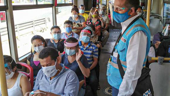 ATU actualiza los aforos de pasajeros que viajan en el transporte urbano de Lima y Callao