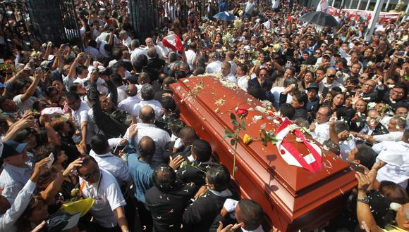 Funeral de Alan García