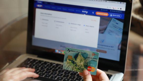 Los peruanos alistan las compras por internet por el Día del Padre. (Foto: Juan Ponce / GEC)