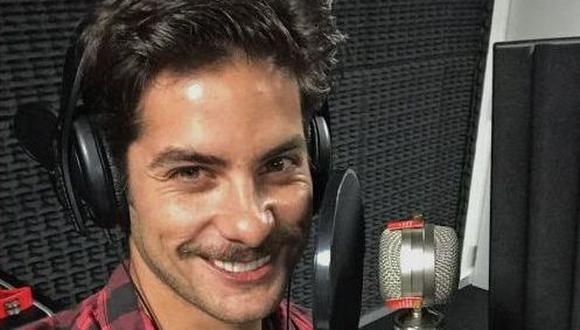 Andrés Wiese actuará y cantará en la serie 'Cumbia Pop'. (Créditos: Twitter)