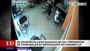 Carabayllo: delincuentes asaltan por segunda vez restaurante y se llevan las ganancias del día