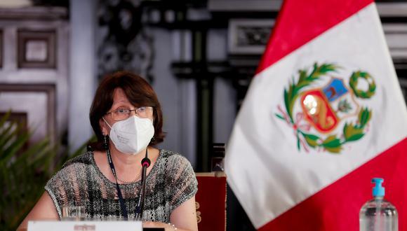 Pilar Mazzetti cuestionó que incremento de precios por el oxígeno medicinal en plena segunda ola por coronavirus. (Foto: Presidencia Palacio)