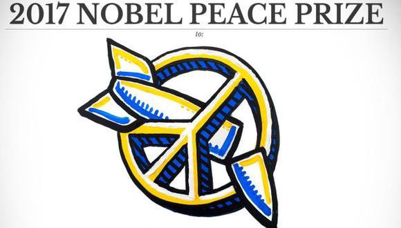 La Campaña Internacional para la Abolición de las Armas Nucleares ganó el Premio Nobel de la Paz 2017 (Premio Nobel/Twitter)
