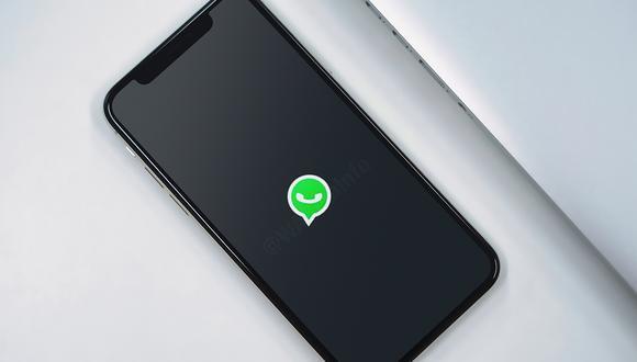 """¿Cómo se activa el """"modo oscuro"""" en los chats de WhatsApp? Sigue este truco. (Foto: WABeta Info)"""
