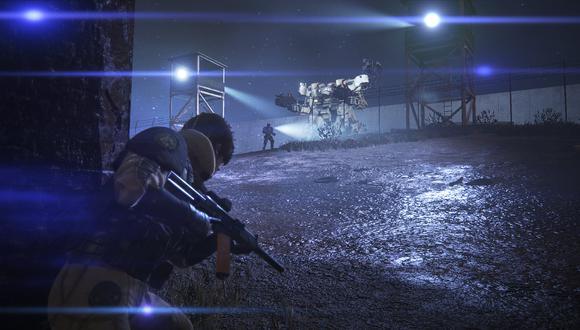 Left Alive es un juego de disparos en tercera persona con matices de sigilo e infiltración.