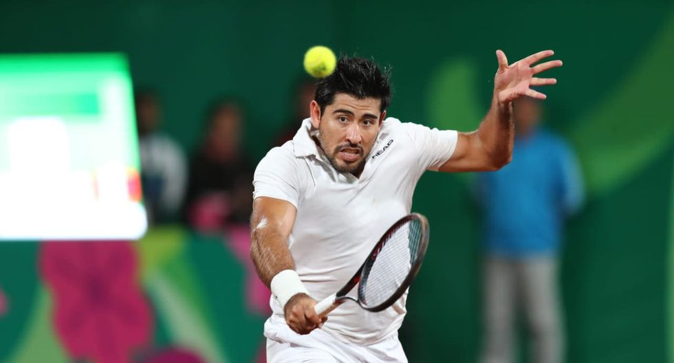 Perú logró medalla de bronce en los doble mixtos de tenis. (Foto:  Giancarlo Ávila)