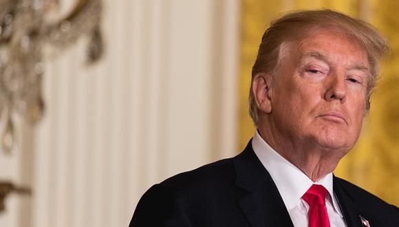 Donald Trump, presidente de Estados Unidos, solicitó hoy al Congreso aprobar una ley ampliar para minimizar tiroteos en su país. (Getty)