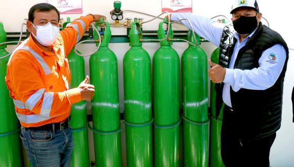 Apurímac: ponen en funcionamiento planta de oxígeno para pacientes con COVID-19 (Foto difusión).